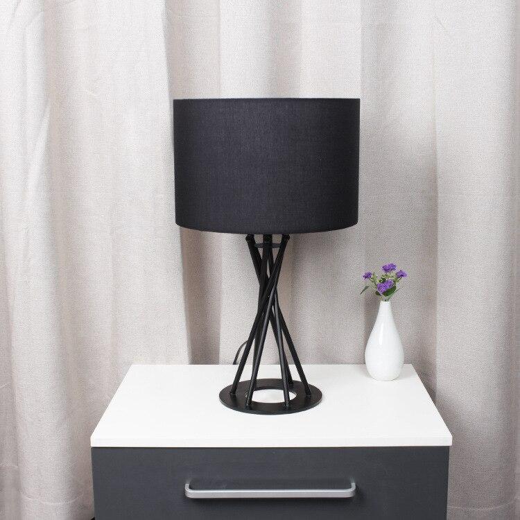 Туда 51x30 см Бесплатная доставка настольная лампа украшения Железный Настольные лампы минималистский Творческий Гостиная Спальня исследов...