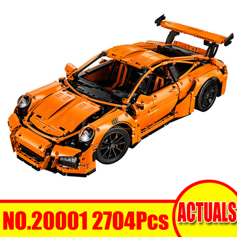 2704Pcs 20001 20001B Lepin Technic Figures Race Car Model Kits Building Blocks Bricks Set Toy For Children Compatible With 42052 a toy a dream lepin 15008 2462pcs city street creator green grocer model building kits blocks bricks compatible 10185