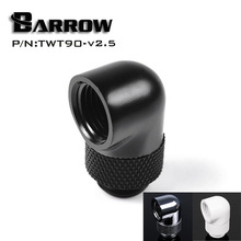 Barrow TWT90 v2.5, G1/4 Thread 90 Degree Rotary Fittings, Seasonal Hot Sales,One Of The Most Practical Water Coolling Fittings