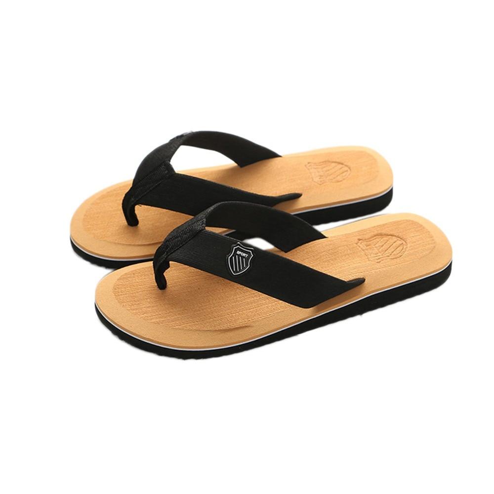 4f985d987467e3 Men's Summer Flip-flops Slippers Beach Sandals Indoor&Outdoor Casual Shoes  man Platform Slippers zapatos hombre