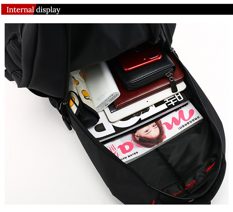 mochila oxford masculino bolsa de viagem mochilas