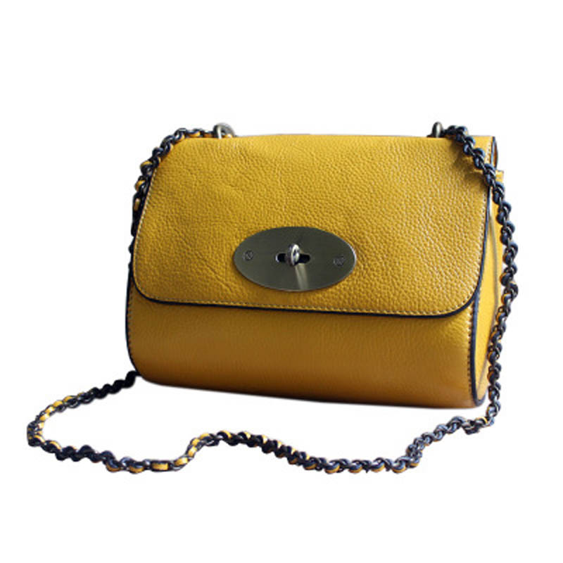 YISHEN Fashion Genuine Leather Luxury Women Shoulder Bags Small Chain Bags Versatile Ladies Crossbody Bags Flap Bags MLT6925-in Shoulder Bags from Luggage & Bags    3