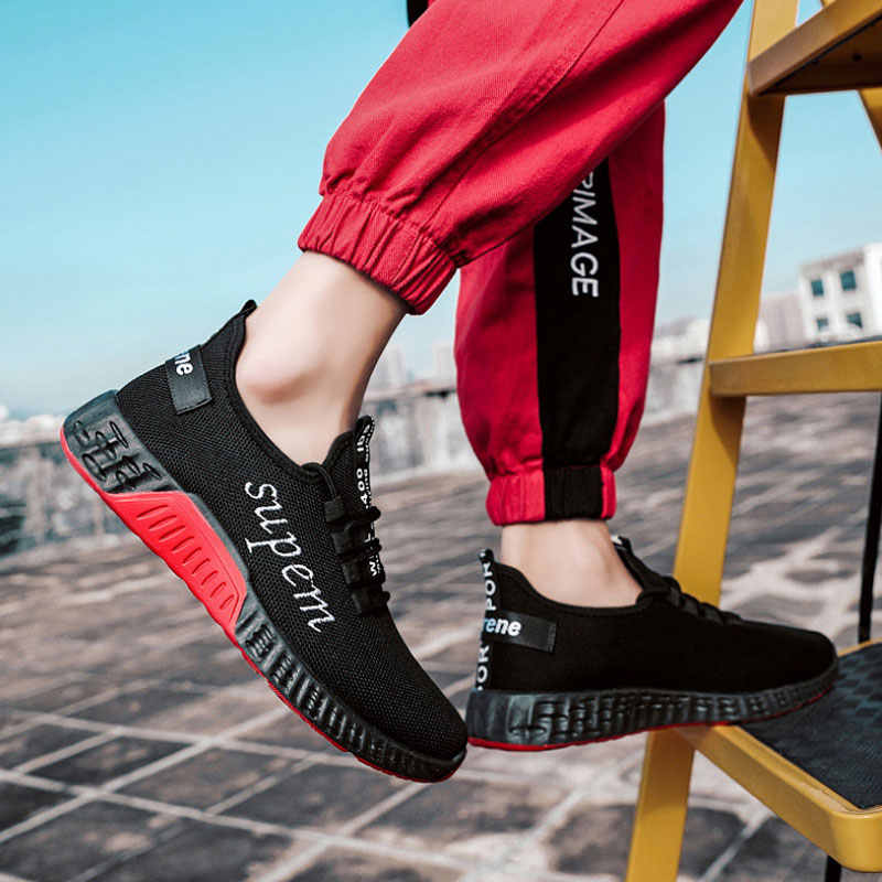 762caedcd ... 2019 Spring Casual Men Running Shoes Black Superstar Sneakers Shoes  Human Race Breathable Flats Male Trainers