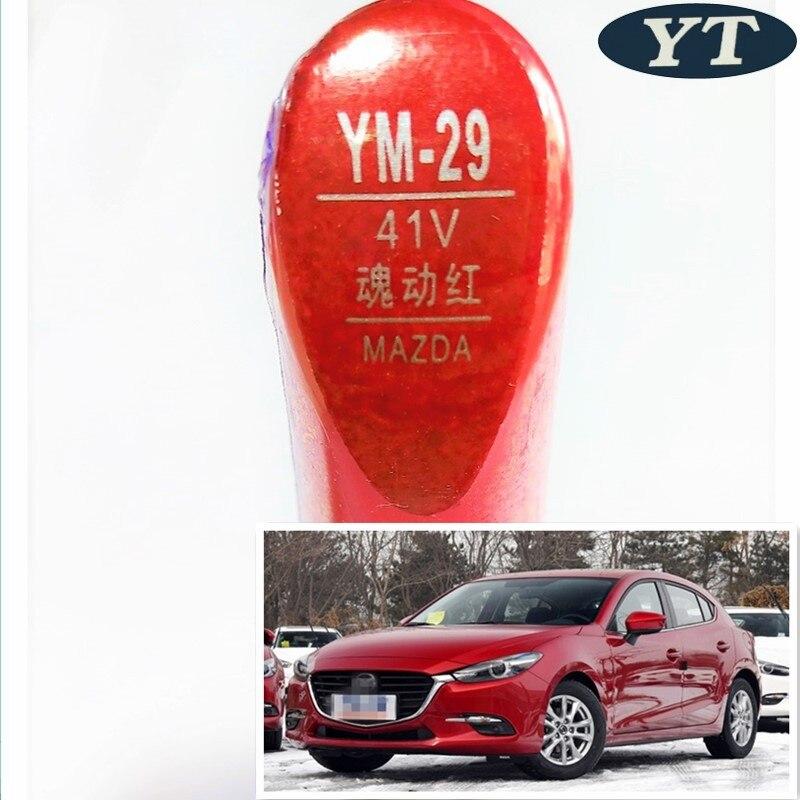 Car scratch repair pen, auto paint pen RED color for Mazda 2 mazda 3 mazda 6,cx-5,cx-3,car painting pen