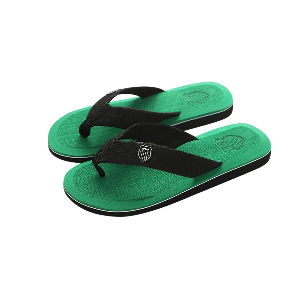 Домашние и уличные мужские тапочки; Летние вьетнамки; мужские тапочки; модная пляжная Повседневная обувь; тапочки; мужские шлепанцы