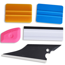 EHDIS 5Pcs Car Squeegees Vinyl Film Wrap Tools Kits Window Tints Tools Car House Clean Scraper Vehicle Windshield Wiper Tool Set