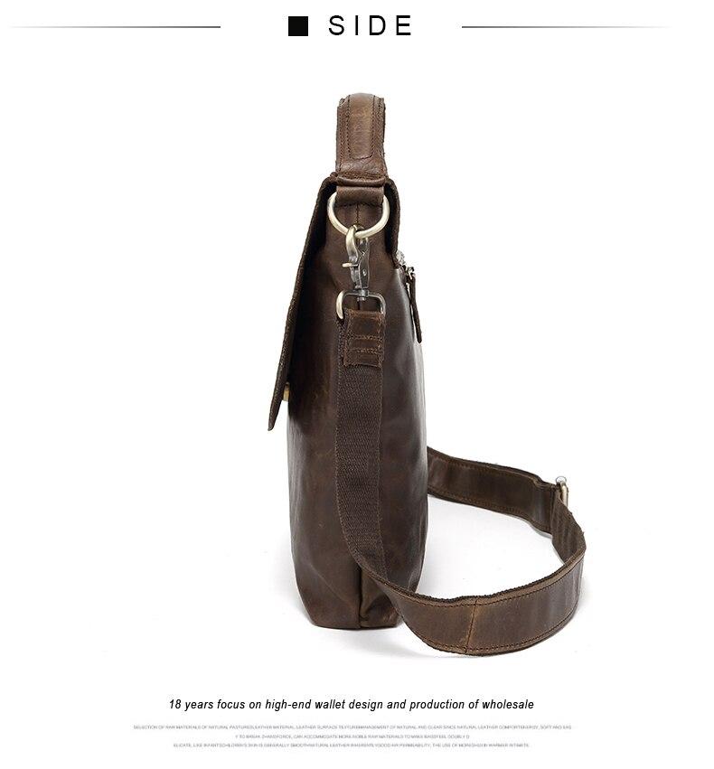 ombro ocasional bolsa mensageiro para homens