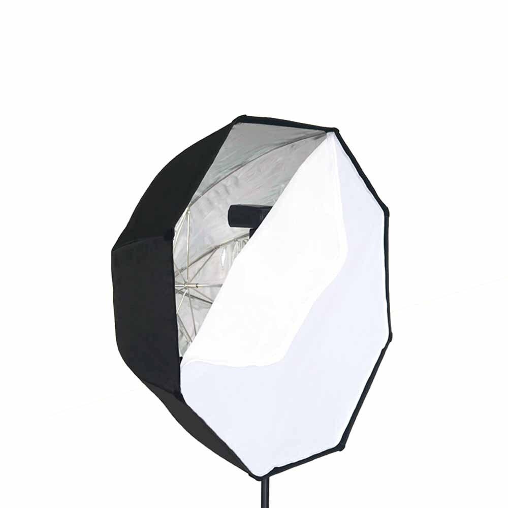 Parapluie type octogone boîte souple portable couverture top flash lumière film et télévision général studio set fournitures
