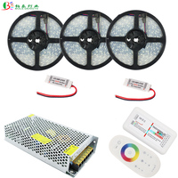 20M 5050 RGBW LED Strip IP67 Waterproof Flexible Diode Tape 15M RF RGBW Remote Controller RGBW