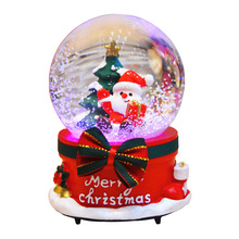 Christmas Toys For Girls Boy Kids Children Baby Snow Lamp Music Reindeer Christmas Gift Toy Santa Claus Snowman Moose Glass Toys цены онлайн