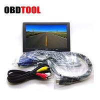 Bus 7 Inch TFT LCD Digital Screen Car Display HD Monitor Auto TV HDMI 800 X