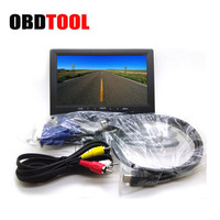 Bus 7 Inch TFT LCD Digital Screen Car Display HD Monitor Auto TV HDMI 800 X