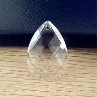 현대 램프 부품 지우기 컬러 그리드 아몬드 모양 프랑스어 펜 던 트 샹들리에 크리스탈 프리즘 k9 크리스탈 트리밍 부품