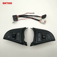 SKTOO For Chevrolet Cruze 2009 2014 Cruise switch multifunction steering wheel switch the volume button switch Bluetooth