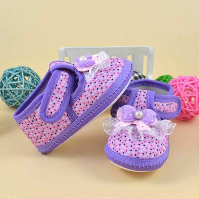 ARLONEET Bebé Zapatos Niña niño suave cuna zapatos 2018 recién nacido suela cuna niño ropa zapatillas mantiene a bebé seguro