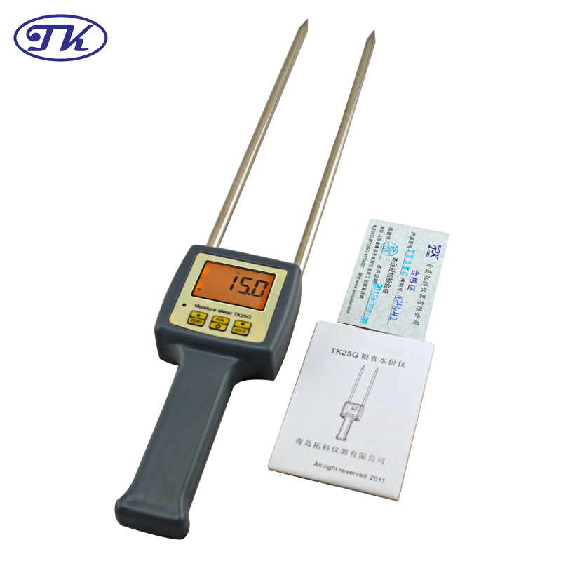 Grains Barley Corn Hay Oats Rapeseed Rough Rice,Sorghum,Soybeans, Wheat grain,Moisture Meter Tester TK25G multifunctional grain moisture meter ms g test for barley corn hay oats rapeseed rough rice sorghum soybeans and wheat
