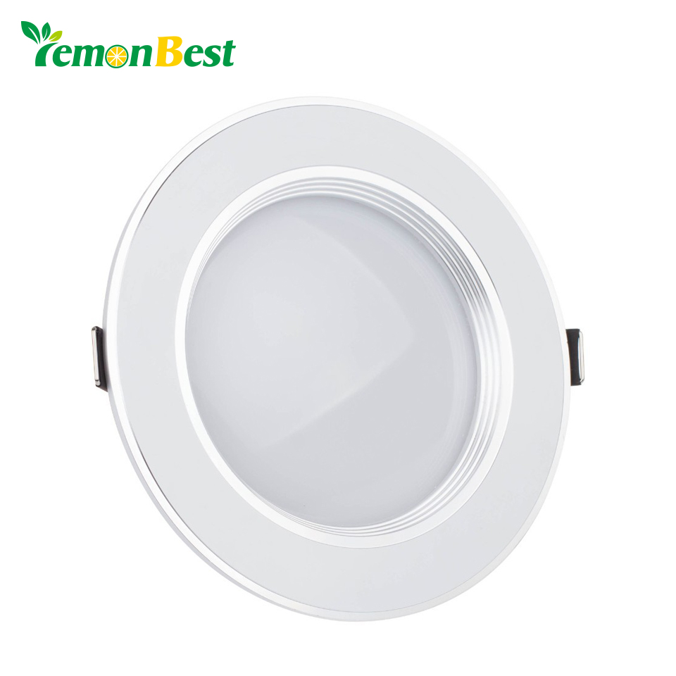 Ultra thin Recessed Lights 110V 220V Dimmable 3W 5W 7W 9W 12W Led ...