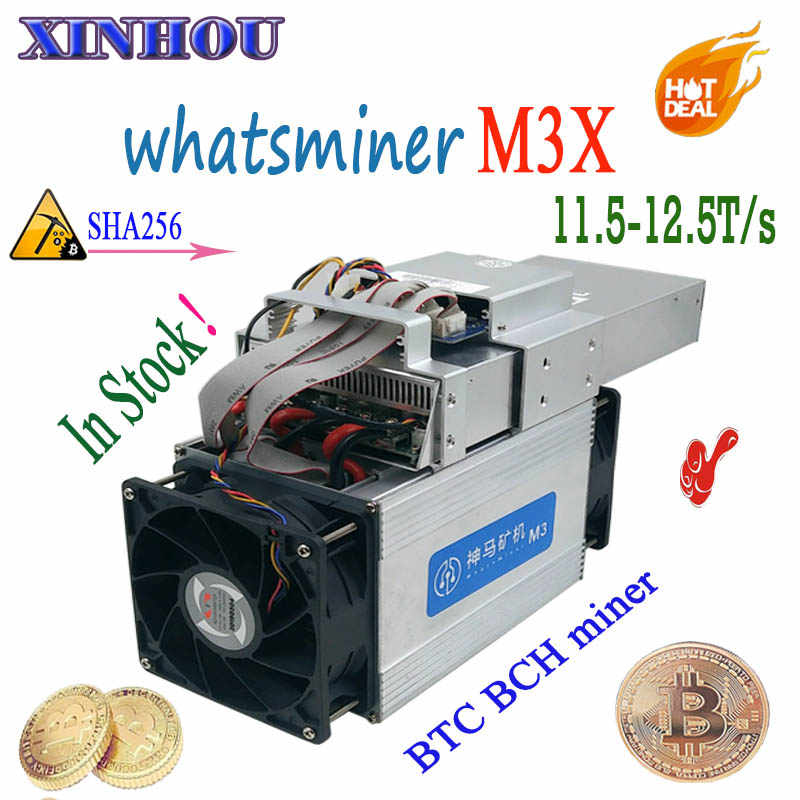 Detail Feedback Questions about Asic Bitcoin Miner WhatsMiner M3X
