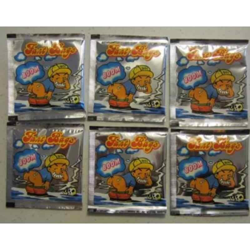 1 bolsas/lote bomba fétida juguetes de broma apretar bolsa olorosa perfumada bromas prácticas Juguetes Divertidos para adultos para niños