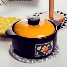 CFen A's Anti-skid Insulation Cotton Round Table Mat Potholder Drink Coasters Kitchen Mat Hot Pot Place Mats For Pot  1pc