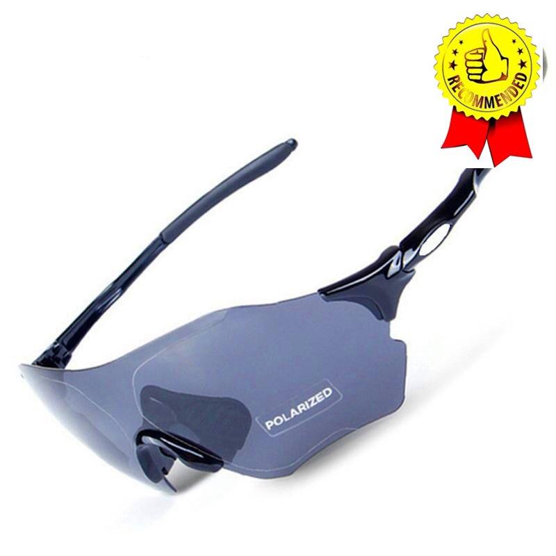 3 объектива Для Мужчин's Evzero путь солнцезащитные очки Mtb велосипедные очки спорта на открытом воздухе поляризационные рыбалки солнцезащитны...
