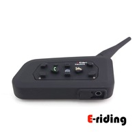 Motorcycle Bluetooth Intercom Helmet 6 Riders Multi Waterproof Bluetooth Interphone Headsets 1KM Free Shipping