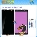 LCD Display with Touch Screen Digitizer For Sony for Xperia Z L36h L36i C6601 C6602 C6603 C6606 C660x + Tools + tracking number
