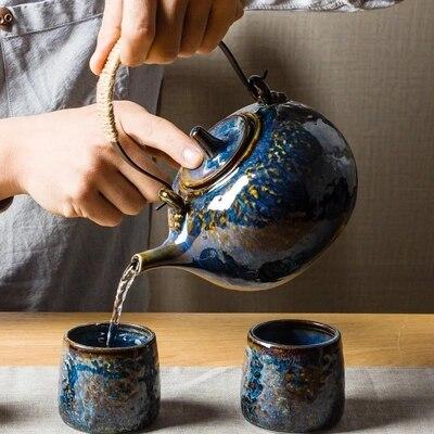 Керамический чайный сервиз Kungfu, большие чайные сервизы, офисные Японские чайные сервизы, новинка 2019|Заварники|   | АлиЭкспресс