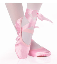 Girls Kids Ballet Point Dance Shoes Children Beginner Practicing Dancing Shoes Soft Sole Satin Ballet Shoes According CM to buy cheap WOMEN LOOKLOOKBUY HONEY Cow Muscle Hook Loop Appliques Soft Ballet Shoes Flat (0 to 1 2 ) Bonded Leather Cotton Fabric