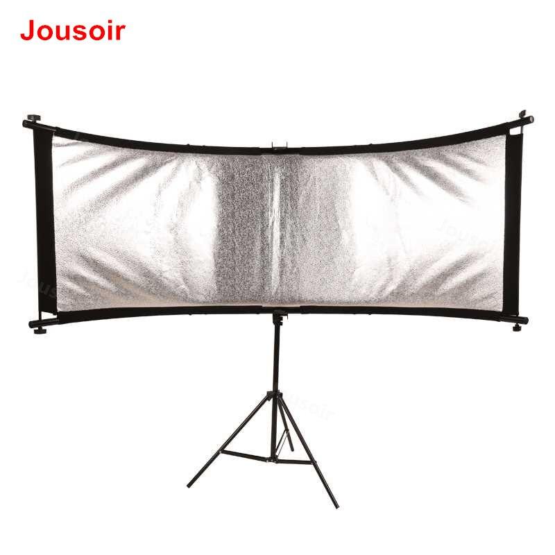 CStudio fotografia refletor refletor Dobrável Sombra retrato de U-em forma de U-tipo de tela reflexiva equipamento fotográfico kit CD50 T01