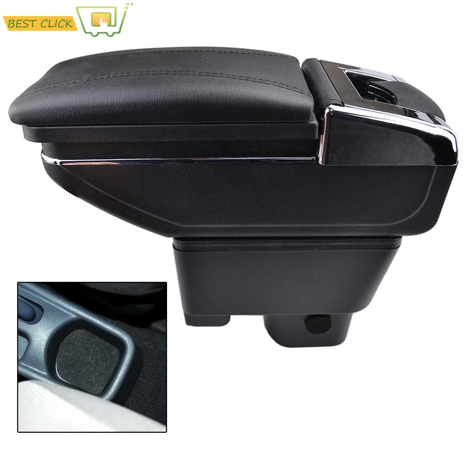 Car Armrest Arm Rest Rotatable For Geely MK 2008-2013 Center Centre Console Storage Box 2009 2010 2011 2012