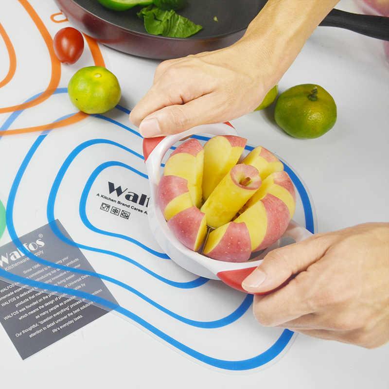 WALFOS бренд пищевой Многофункциональный приспособления для фруктов и овощей лукорезка Яблоко Овощечистка нержавеющая сталь кухонные инструменты