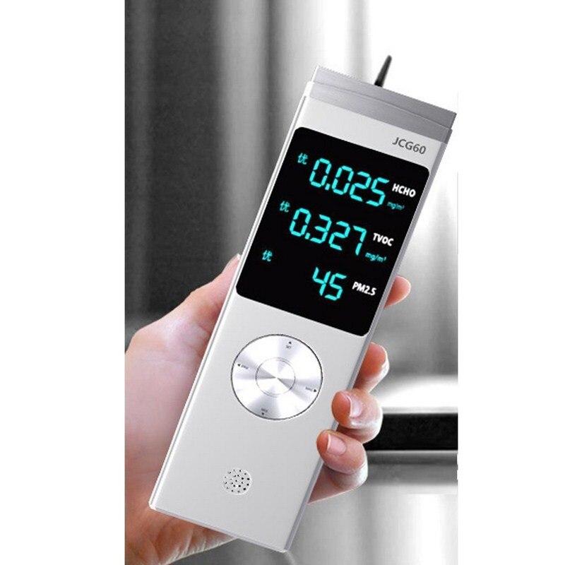 Capteur de gaz Intelligent Portable détecteur de qualité de l'air testeur de formaldéhyde multi-fonction HCHO covt PM2.5 analyseur de gaz Intelligent