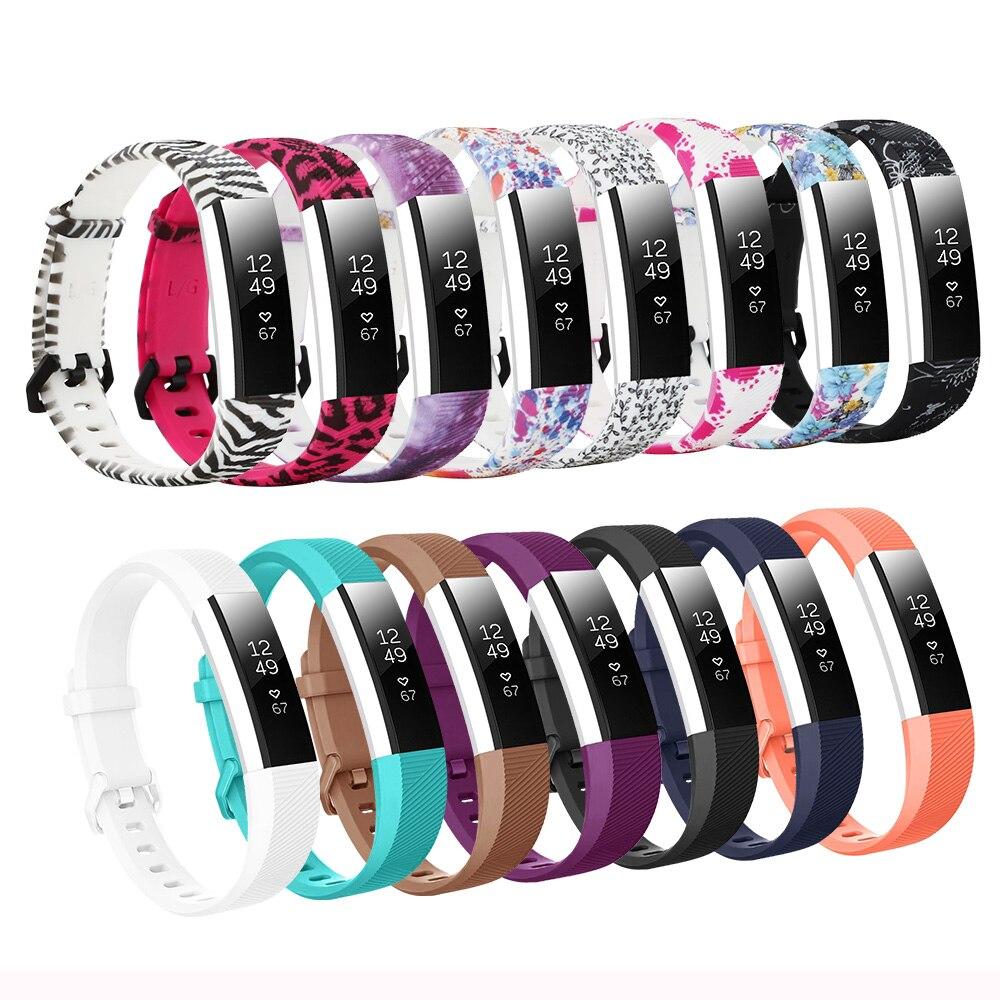 Baaletc Para Fitbit Pulseira Pulseira Silicone Faixa de Relógio Straps Para Fitbit Alta hr Alta hr/Alta Bandje Pequeno e tamanho grande