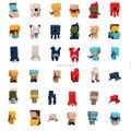 36 unids/lote Super Mini Steve Enderman Enredadera Minecraft Misterio PVC figure Lindo los niños de juguete de colección de Regalo de Navidad de Cumpleaños