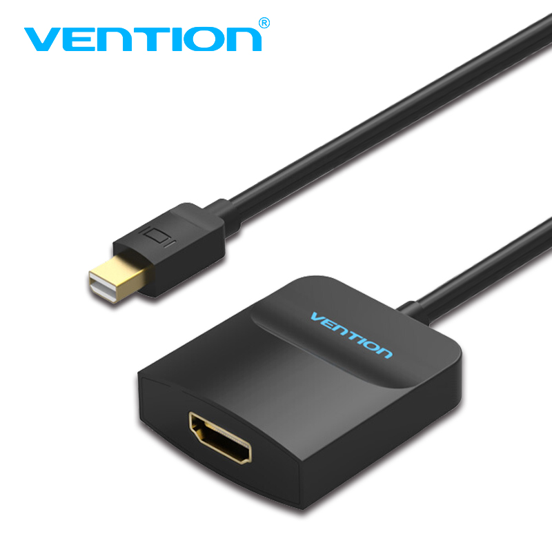 Vention Thunderbolt To HDMI Converter Mini Displayport To HDMI Adapter Cable for Apple MacBook Air Pro iMac Mac Surface Mini DP цена и фото