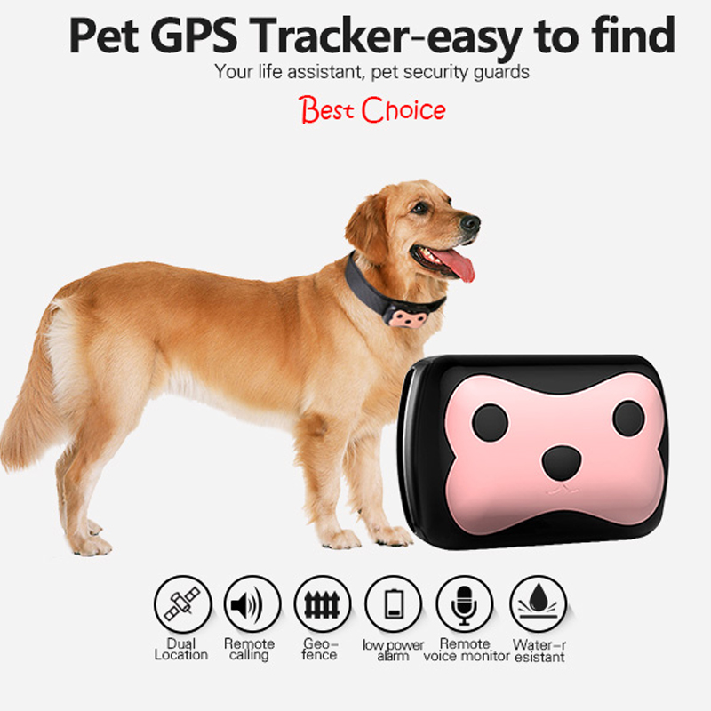 Deest 69 waterproof tracker long standby time dog cat Pet personal GPS+LBS track