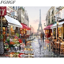 Panorama Portray by Numbers Diy Oil Canvas Portray Wall Artwork Coloring By Numbers Digital Portray Residence Decor Handpainted Paint
