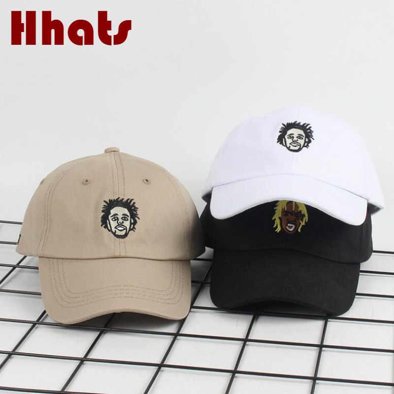 039a594215f the rapper dad hat adjustable cotton singer Lil Uzi Vert cartoon baseball  cap hip hop solid