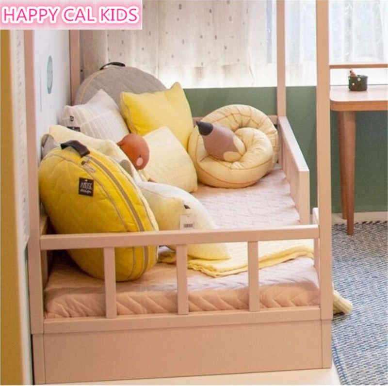 190 см длинная подушка для детей мягкие карандаши-игрушки плюшевые детские детская кроватка с амортизатором кровать протектора хлопковая диванная подушка Украшения для детской