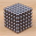 5mm 216 pcs black magic balão bolas magnetic cube neo cube neodímio ímã mármores contas brinquedos para as crianças