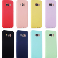 simple Soft Silicone Colors Case for Samsung galaxy S10E Sam