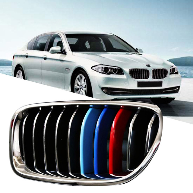 Car-styling For BMW Front Grille Stickers For 5 Series
