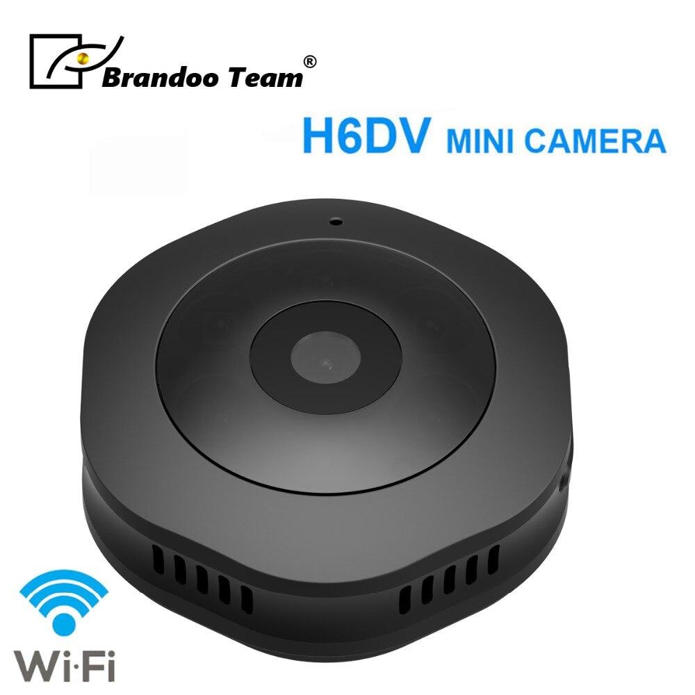 New Mini H6 Camera 1080P Wifi DV DVR Wireless IP Cam Brandoo New Mini Video Camcorder