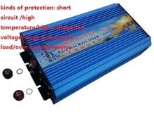 цена на Free shipping off grid 3000w pure sine inverter, power inverter 24v 3000w
