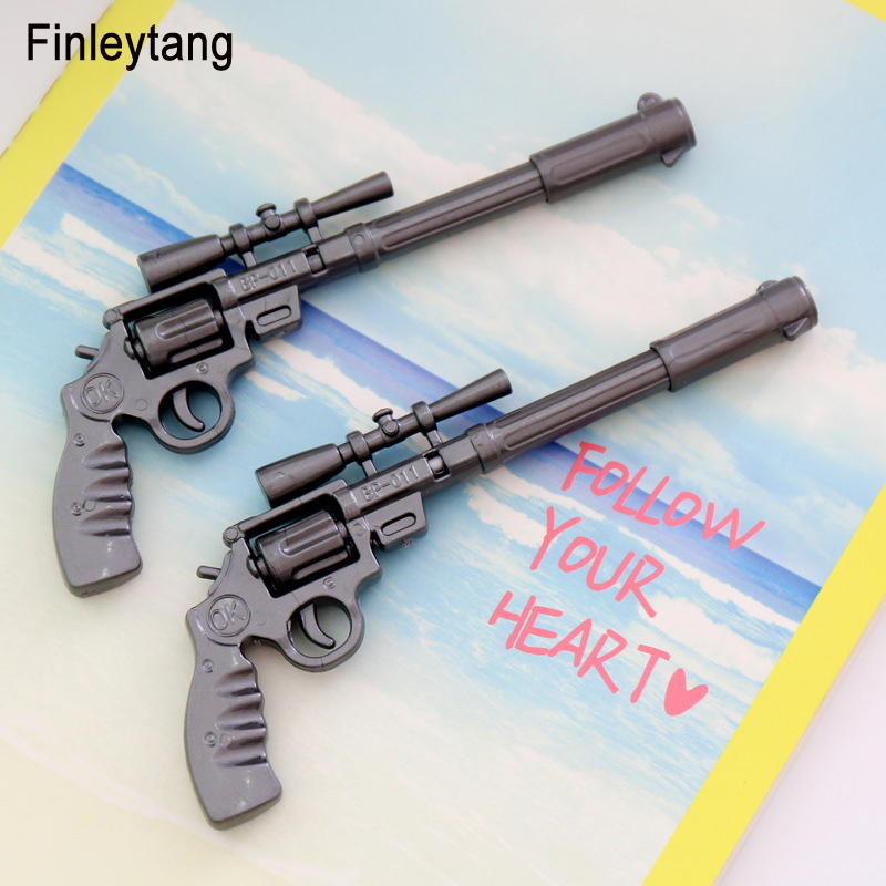 Novelty Stationery Creative Gun Style Ballpoint Pen Kawaii Funny Rollerball Pen Writing Tool School Supplies For Kids Gun Toys