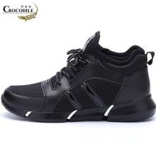Купить с кэшбэком Crocodile 's Women Sport Shoes Ladies Original Sneaker Femme Stable Jogging Running Shoes Women Thermal Athletic Sapato Shoes
