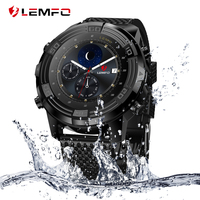 LEMFO LEM6 Smart Watch Waterproof Android 5.1 1GB + 16GB Support SIM card GPS WiFi Hear Rate Wrist Smart Watches Phone For Men