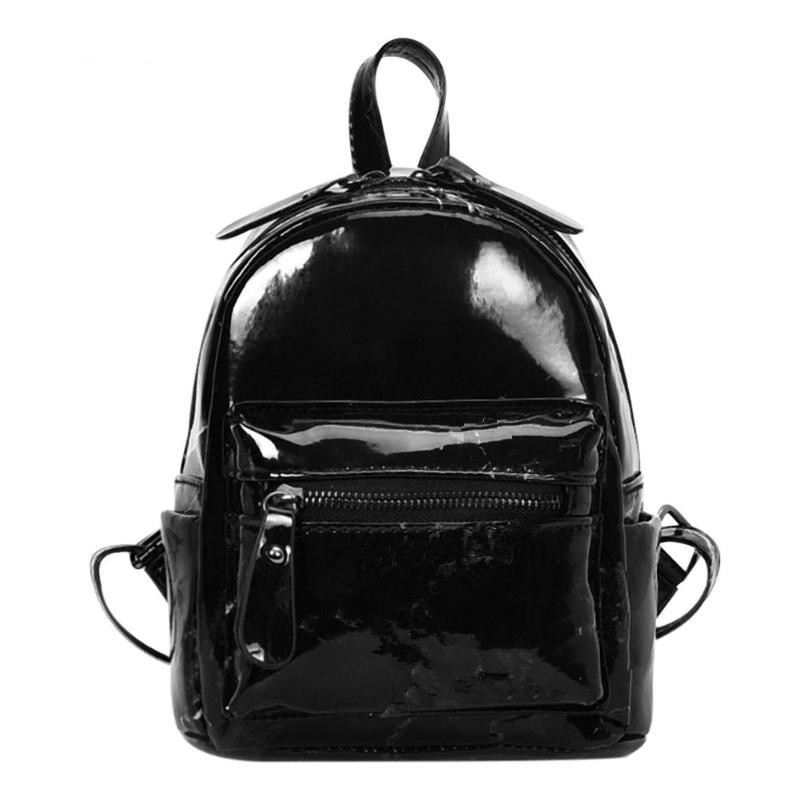 Men's Bags Backpacks Humor Qiuyin Women Backpack For Teenage Girls School Bags Large Drawstring Backpacks High Quality Pu Leather Black Brown Bag