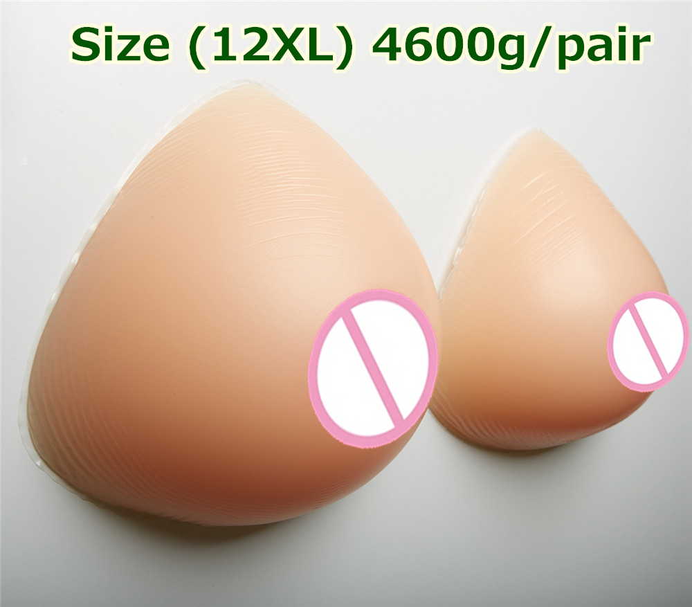 4600g/pair Adhesive False Breasts Silicone Artificial Breast Boobs Breast Enhancers Silicone For Mastectomy Crossdresser 4600g pair beige crossdresser silicone breasts huge breast forms huge boobs false fake breast boobs silicone artificial breasts